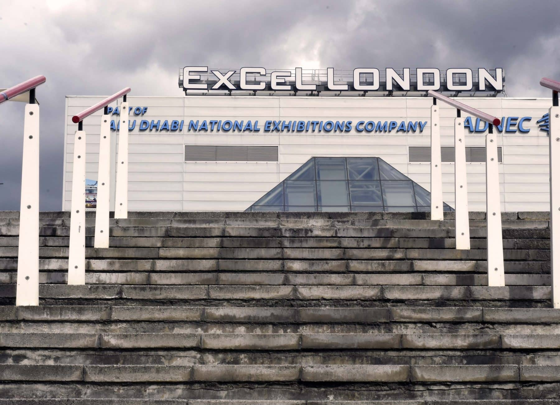 Picture of the ExCel exhibition centre in London